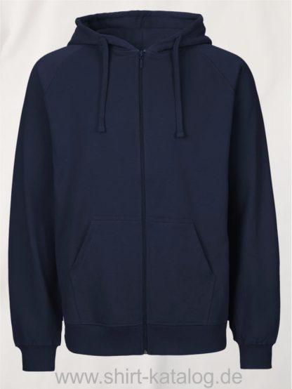 Mens-Zip-Hoodie-Navy-NE63301