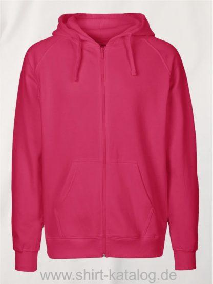 Mens-Zip-Hoodie-Pink-NE63301