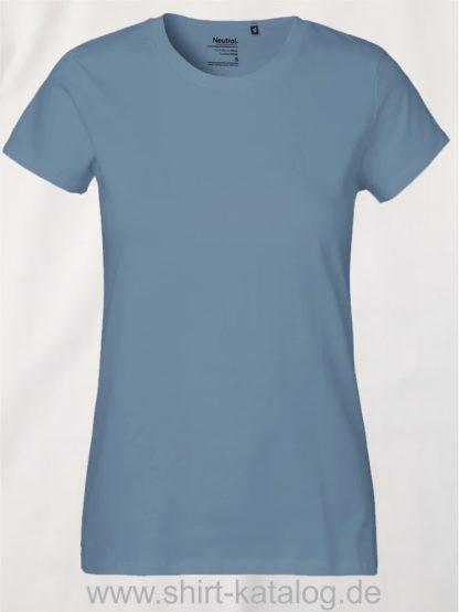 Neutral-Ladies-Classic-T-Shirt-Dusty-Indigo-NE80001