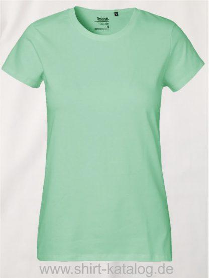 Neutral-Ladies-Classic-T-Shirt-Dusty-Mint-NE80001