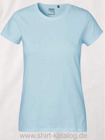Neutral-Ladies-Classic-T-Shirt-Light-Blue-NE80001