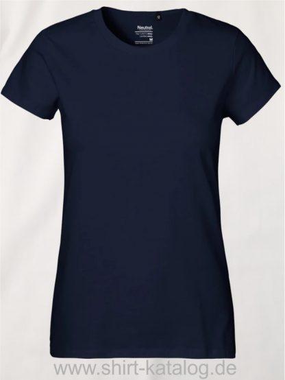 Neutral-Ladies-Classic-T-Shirt-Navy-NE80001