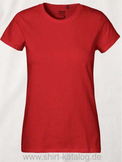 Neutral-Ladies-Classic-T-Shirt-Red-NE80001
