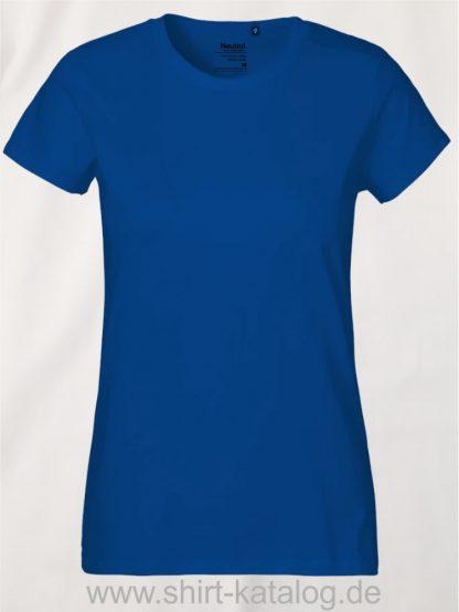 Neutral-Ladies-Classic-T-Shirt-Royal-NE80001