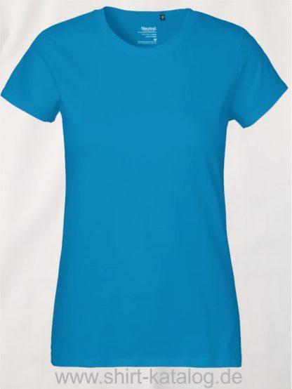 Neutral-Ladies-Classic-T-Shirt-Sapphire-NE80001