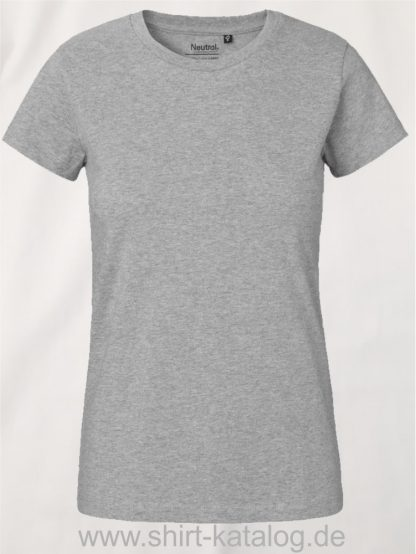 Neutral-Ladies-Classic-T-Shirt-Sport-Grey-NE80001