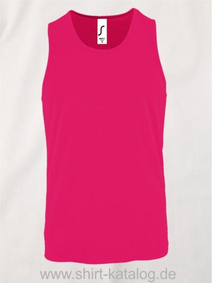 02073-Sols-Men-Sports-Tank-Top-Sporty-Neon-Pink
