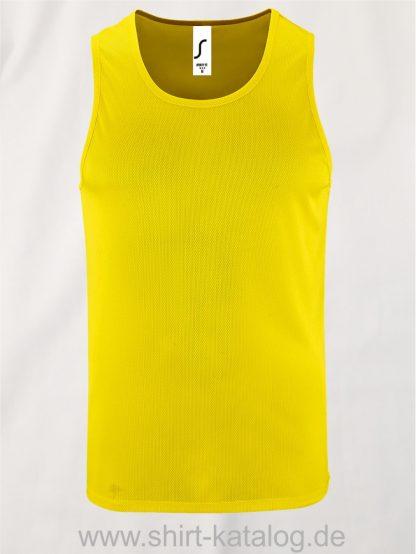 02073-Sols-Men-Sports-Tank-Top-Sporty-Yellow