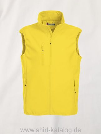 020911-clique-basic-shoftshell-weste-yellow