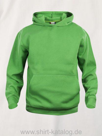 021021-clique-basic-hoody-junior-apple-green