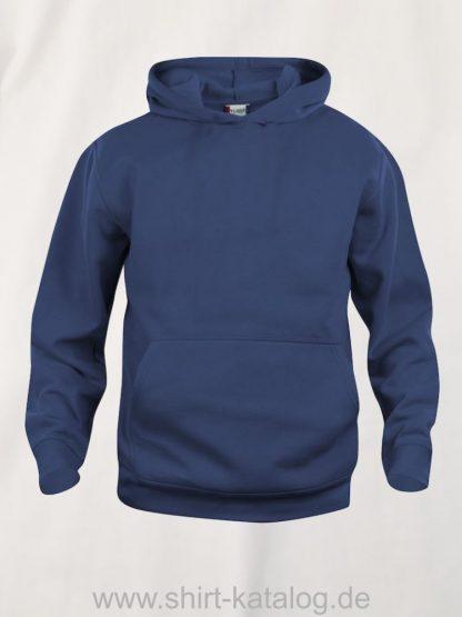 021021-clique-basic-hoody-junior-dark-navy