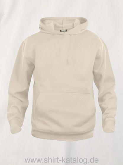 021021-clique-basic-hoody-junior-helles-beige