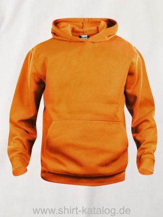 021021-clique-basic-hoody-junior-visibility-orange