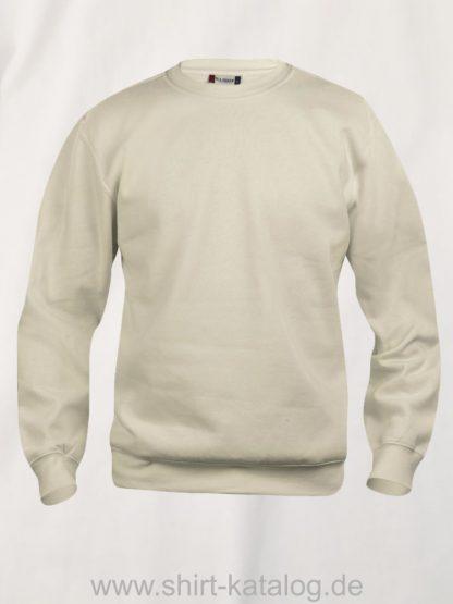 021030-clique-basic-roundneck-helles-beige