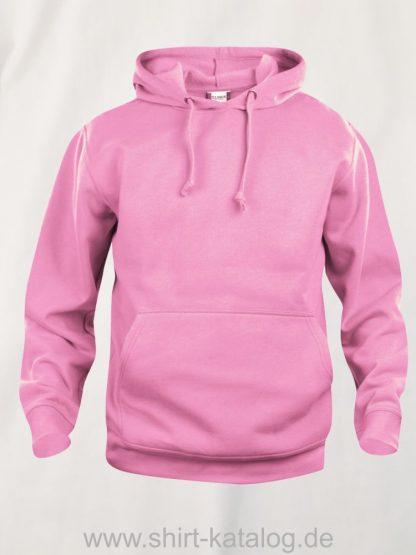 021031-clique-basic-hoody-bright-rose