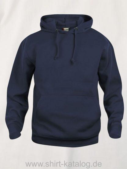 021031-clique-basic-hoody-dark-navy
