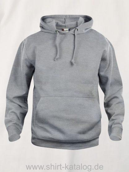 021031-clique-basic-hoody-graumeliert