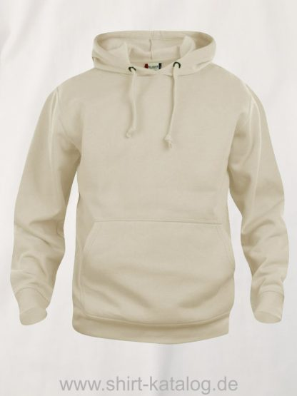 021031-clique-basic-hoody-hell-beige