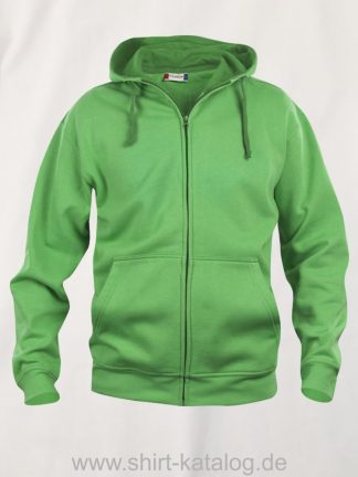 021034-clique-basic-hoody-full-zip-apple-green
