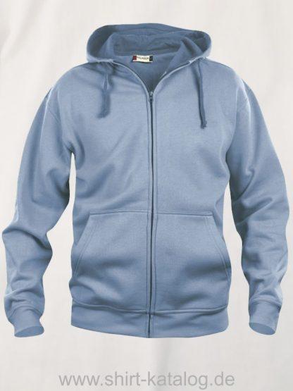 021034-clique-basic-hoody-full-zip-hellblau