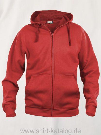 021034-clique-basic-hoody-full-zip-rot