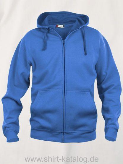021034-clique-basic-hoody-full-zip-royal