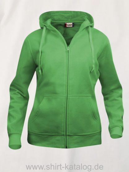 021035-clique-basic-hoody-full-zip-ladies-apple-green