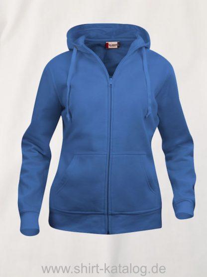 021035-clique-basic-hoody-full-zip-ladies-royalblau
