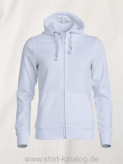 021035-clique-basic-hoody-full-zip-ladies-white