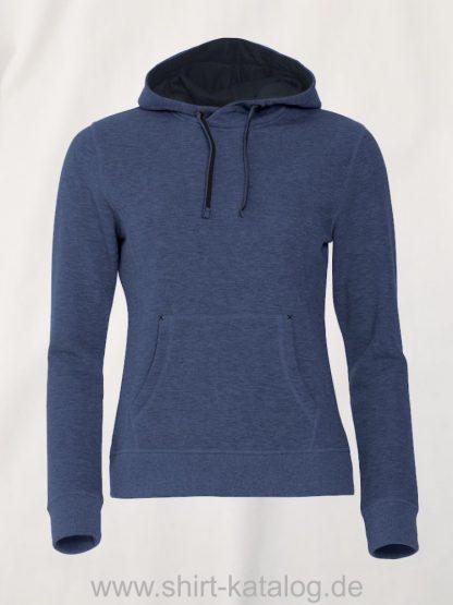 021041-clique-classic-hoody-blau-meliert