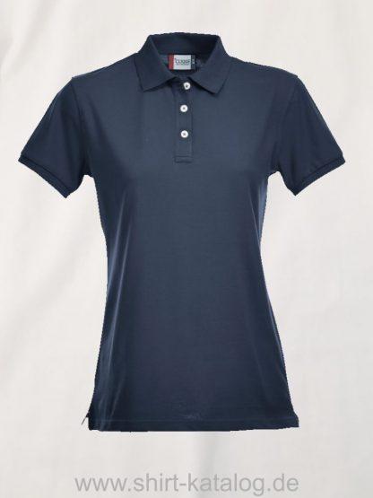 028241-clique-premium-polo-ladies-dark-blue