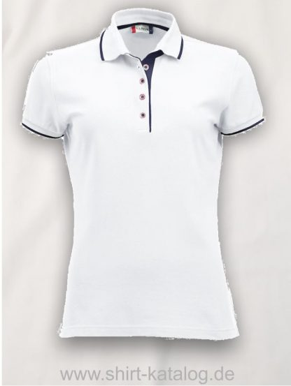 028243-clique-seattle-polo-ladies-weiss