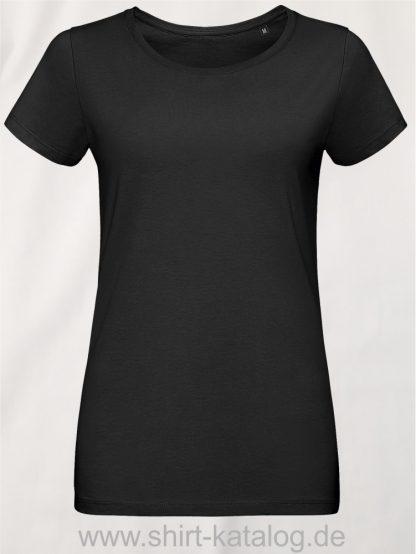 10774-Sols-Martin-Women-T-Shirt-Deep-Black
