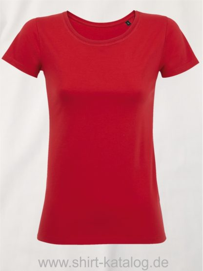 10774-Sols-Martin-Women-T-Shirt-Fire-Red