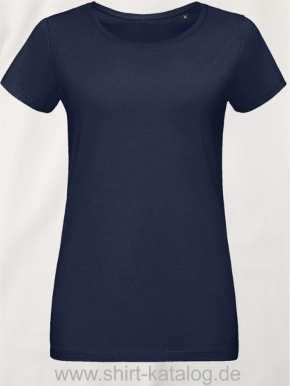 10774-Sols-Martin-Women-T-Shirt-Navy