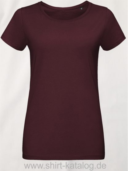 10774-Sols-Martin-Women-T-Shirt-Oxblood