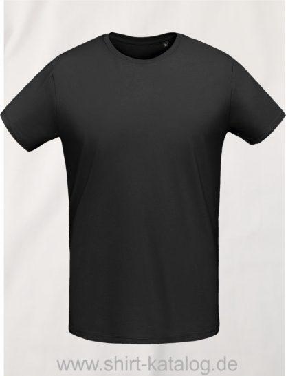 10775-Sols-Martin-Men-T-Shirt-Deep-black