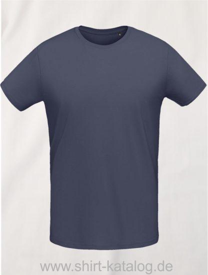 10775-Sols-Martin-Men-T-Shirt-Mouse-Grey