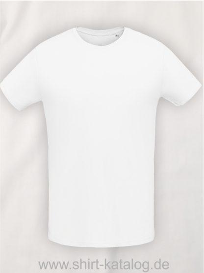 10775-Sols-Martin-Men-T-Shirt-Weiss
