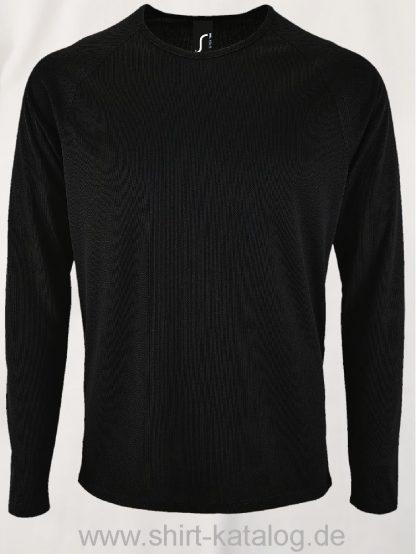 11521-Sols-Men-Long-Sleeve-Sports-T-Shirt-Sporty-Black