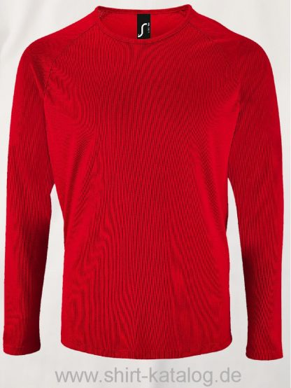 11521-Sols-Men-Long-Sleeve-Sports-T-Shirt-Sporty-Fire-Red