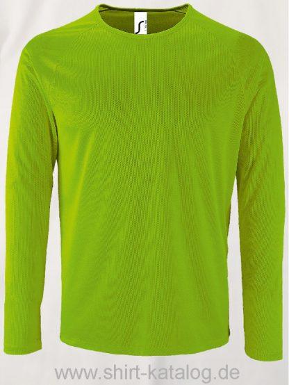 11521-Sols-Men-Long-Sleeve-Sports-T-Shirt-Sporty-Neon-Green