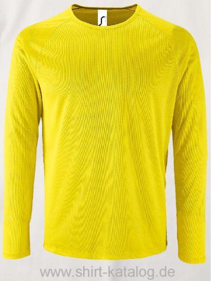 11521-Sols-Men-Long-Sleeve-Sports-T-Shirt-Sporty-Yellow