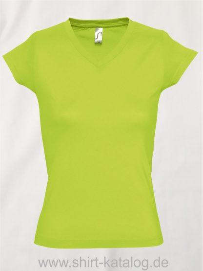 11645-Sols-Ladies-V-Neck-T-Shirt-Moon-Apple-Green