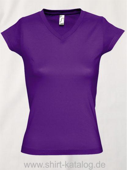 11645-Sols-Ladies-V-Neck-T-Shirt-Moon-Dark-Purple