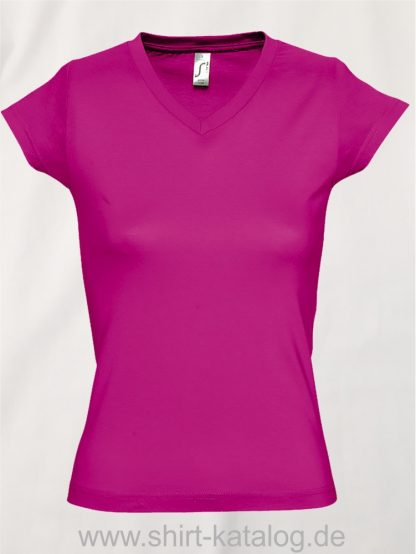 11645-Sols-Ladies-V-Neck-T-Shirt-Moon-Fuchsia