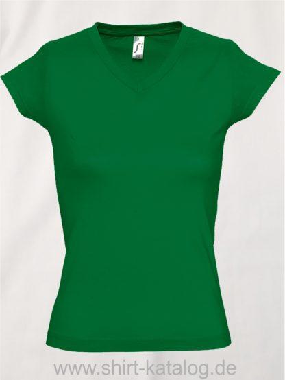 11645-Sols-Ladies-V-Neck-T-Shirt-Moon-Kelly-Green