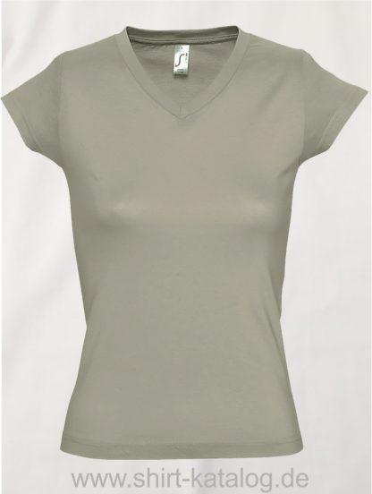 11645-Sols-Ladies-V-Neck-T-Shirt-Moon-Khaki
