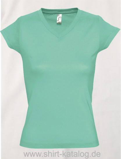 11645-Sols-Ladies-V-Neck-T-Shirt-Moon-Mint