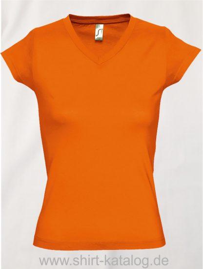 11645-Sols-Ladies-V-Neck-T-Shirt-Moon-Orange